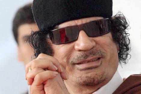 Gaddafi = Evil Santana?